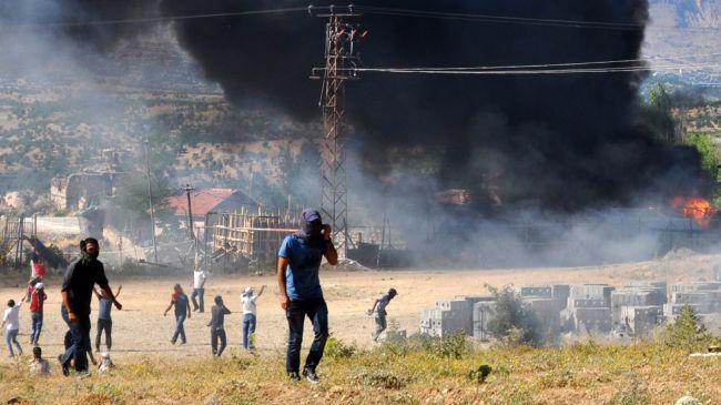 Répression dans le village de Kayacik