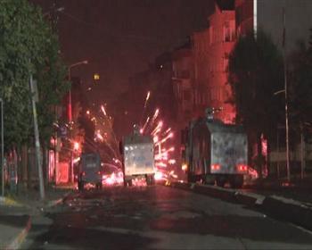 Manifestation dans la banlieue d'Istanbul