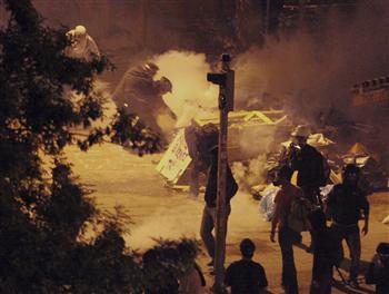 Répression policière à Ankara