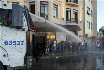 Canon à eau place Taksim
