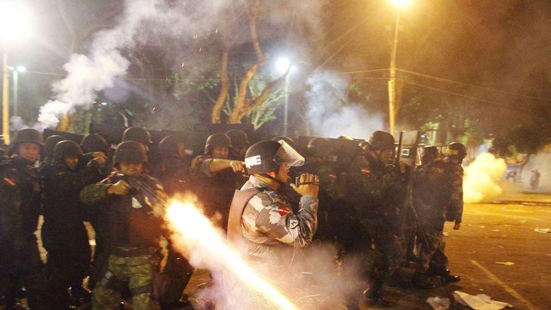 Répression policière au Brésil