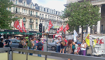 Demonstration Hatice Gülüzar