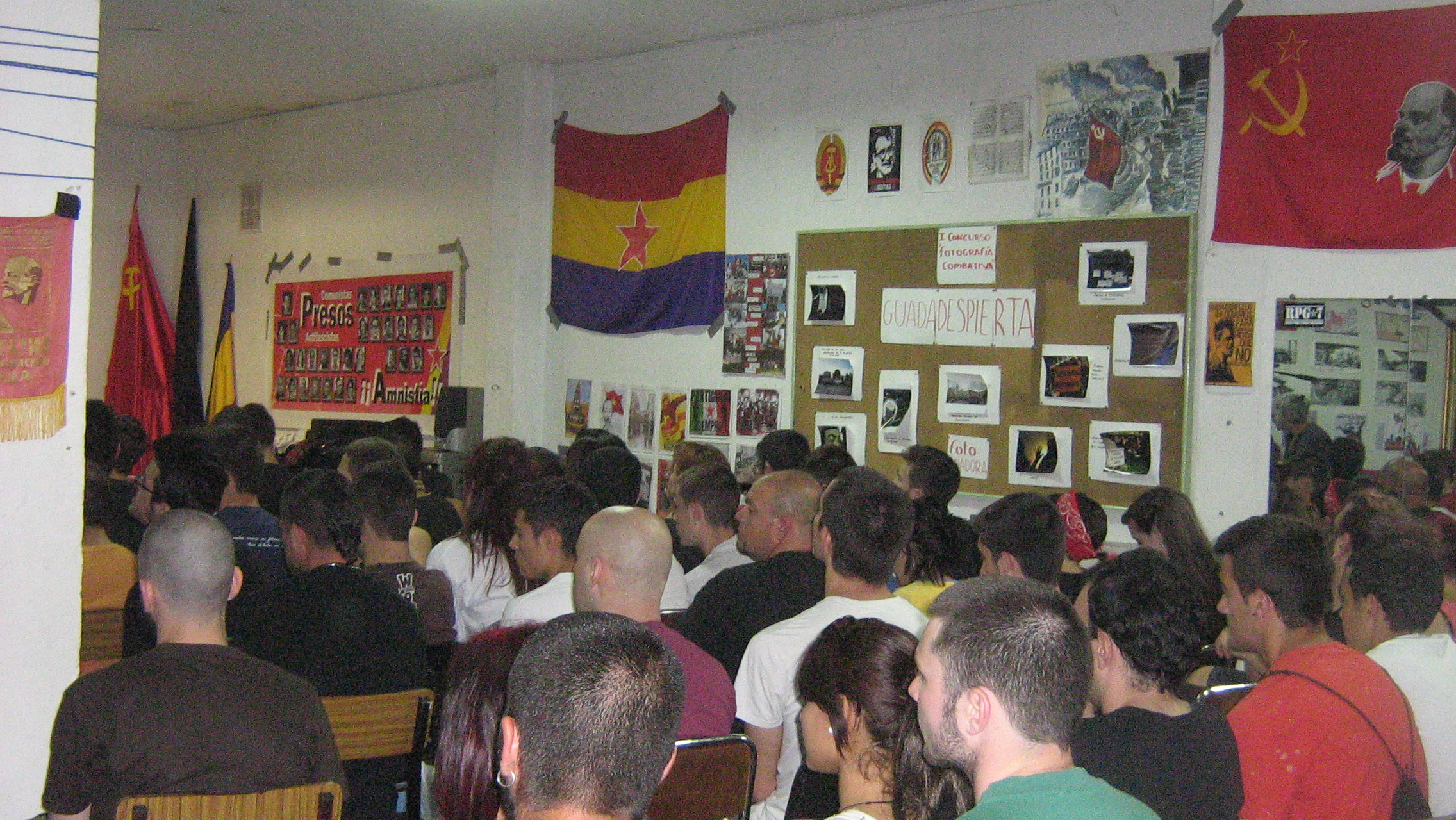 meeting prisonniers PCE(r) GRAPO Guadalajara