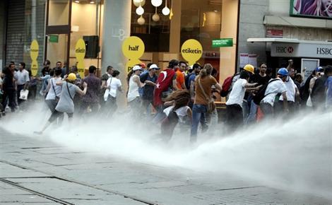 émeutes istanbul