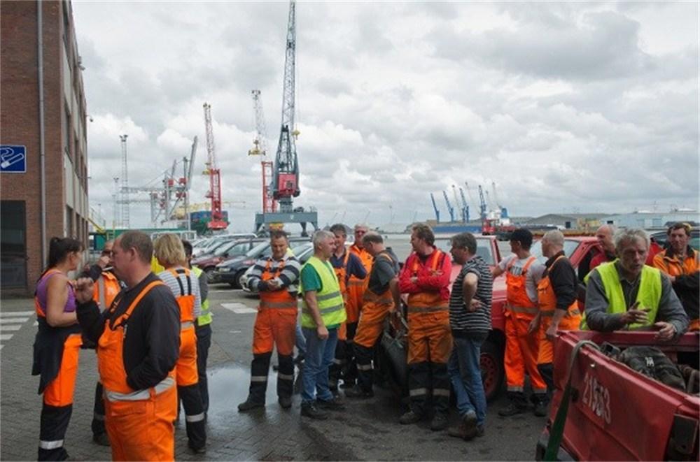 grève à Katoennatie Anvers