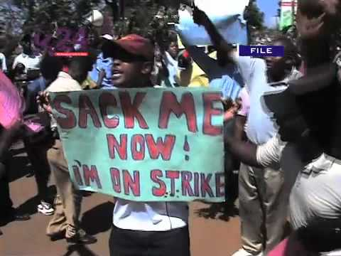 enseignants en grève au Kenya