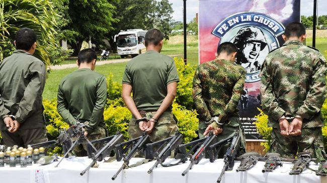 prisonniers des FARC