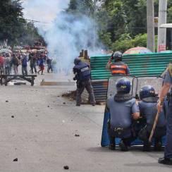 émeute bidonvilles quezon city