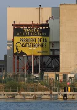 Greenpeace Tricastin
