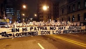 maniafestation anti impunité uruguay