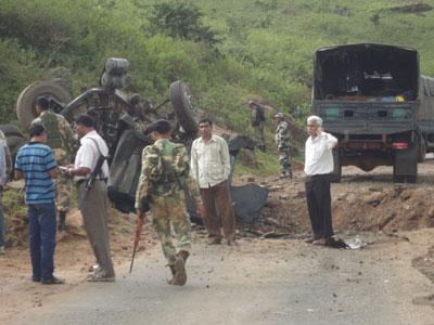 Embuscade maoïste