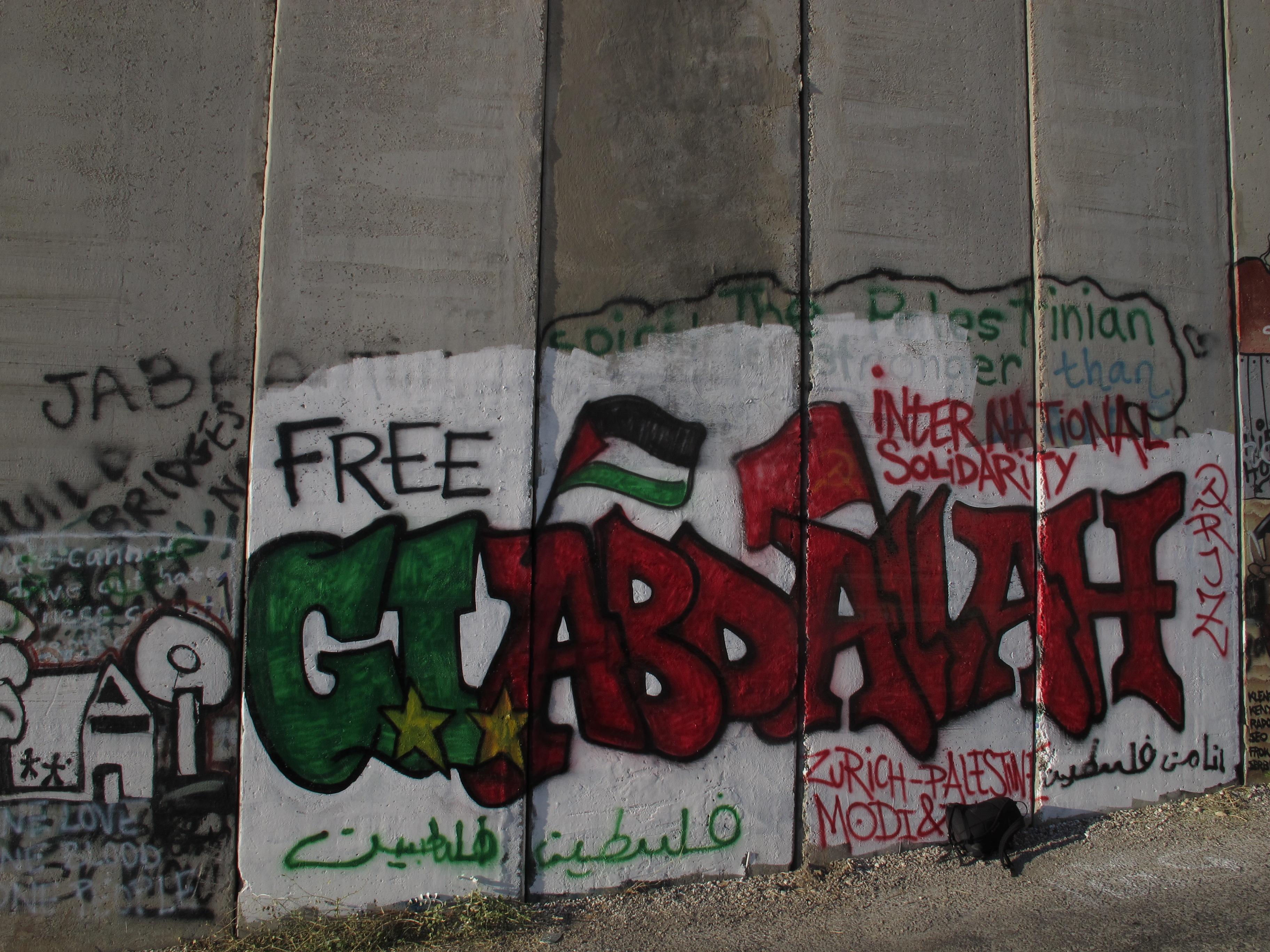 Tag de solidarité avec Georges Ibrahim Abdallah