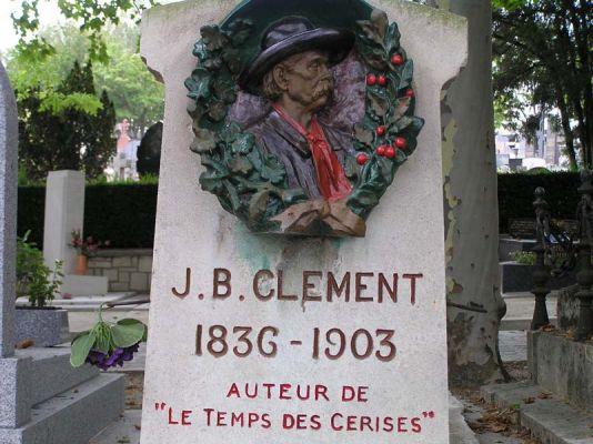 le tombeau de Jean-Baptiste Clément