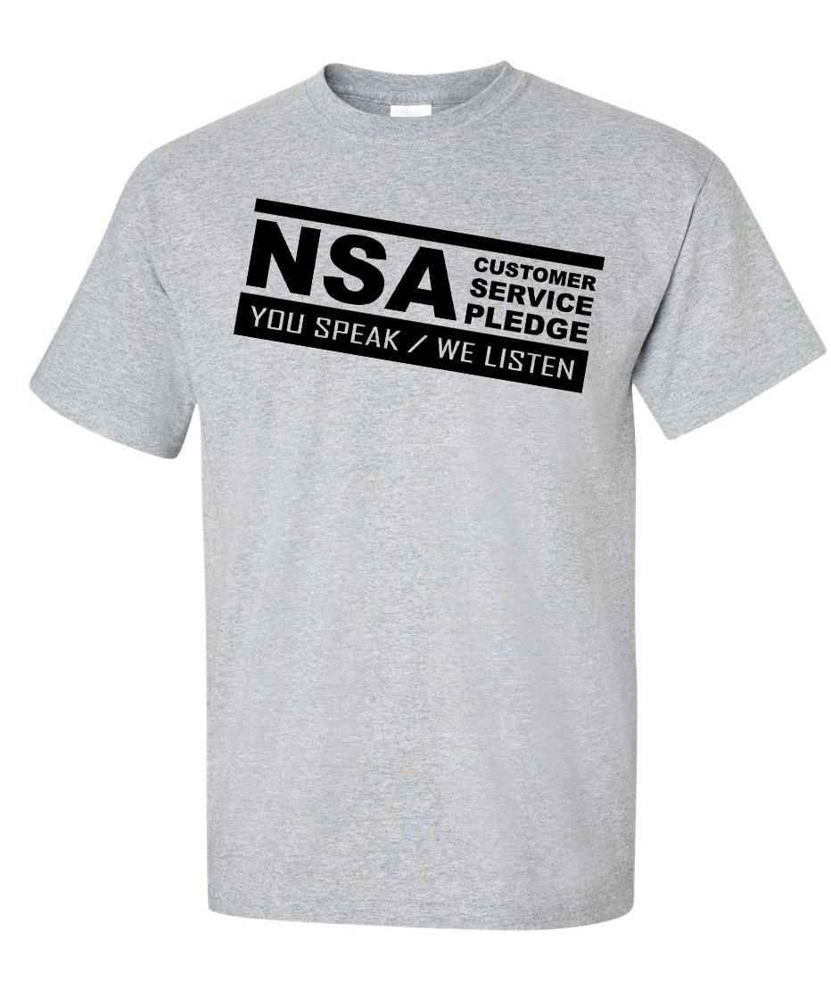 Service client NSA : Vous parlez, nous écoutons