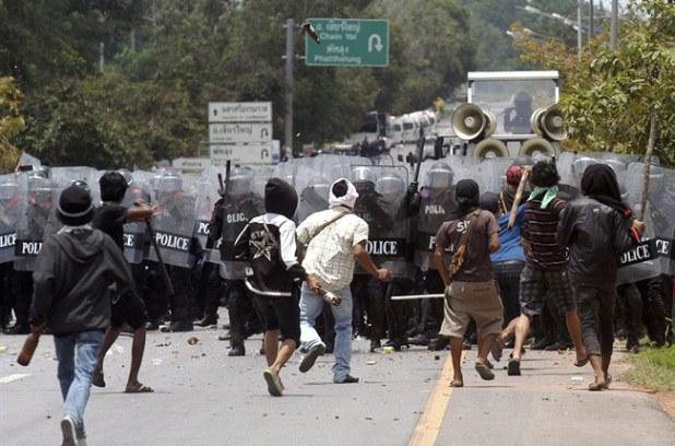 Manifestation des producteurs de caouthcouc