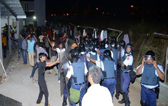 répression des ouvriers bangladais à l'île Maurice