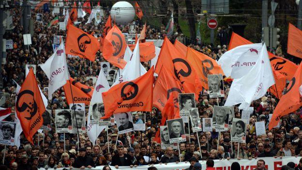 Manifestation pour la libération des prisonniers politiques à Moscou