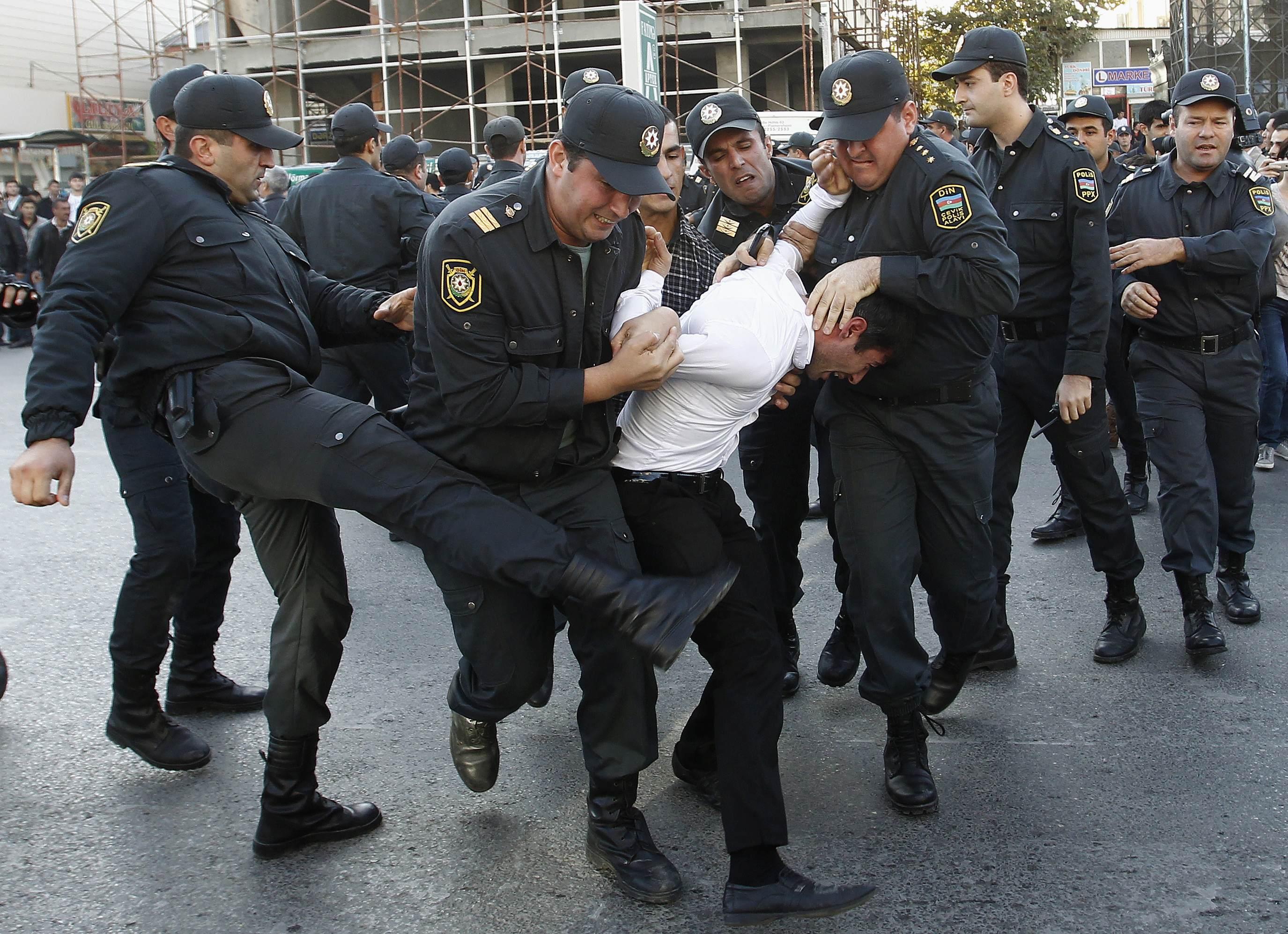Répression à Baku