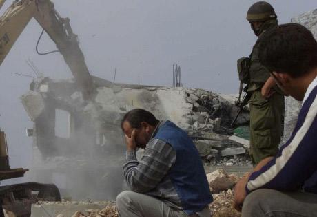 démolition maison palestinienne