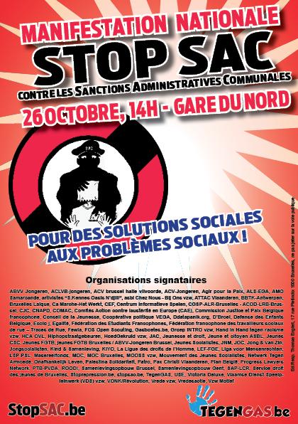 Manifestation contre les SAC