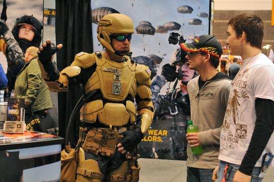 Soldat du futur dans l'US Army
