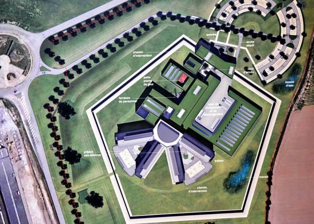 La nouvelle prison de Marche-en-Famenne