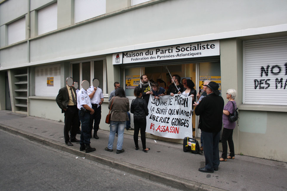 Occupation du PS à Pau
