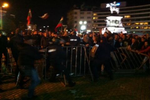 Manifestation anti-gouvernementale à Sofia