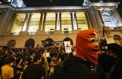 manifestation à rio en soutien aux enseignants grévistes