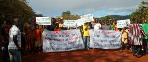 manifestation côte d'ivoire