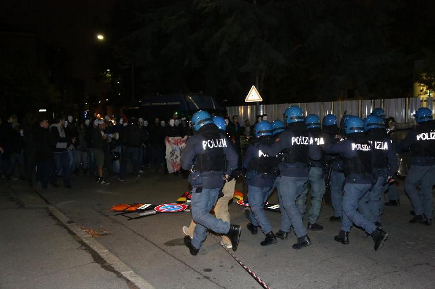 Manifestation à Bologne