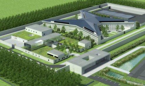 la future prison de beveren