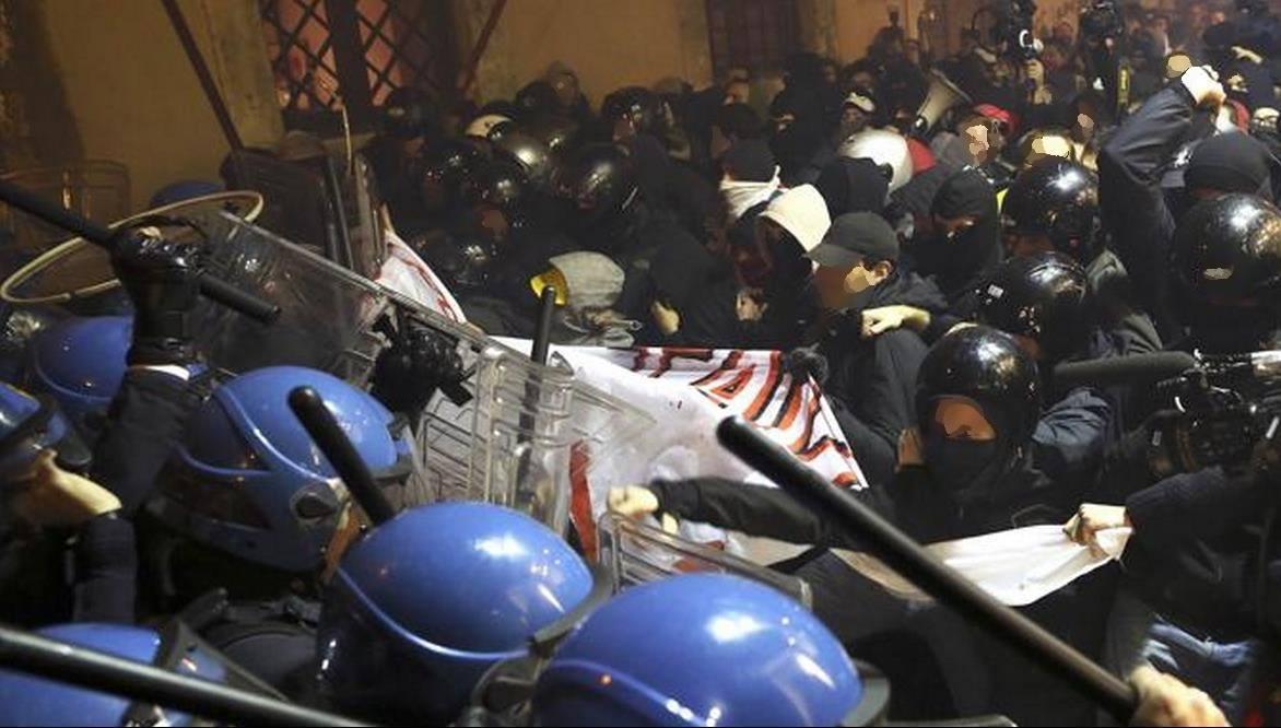 Opposition police vs NO-TAV