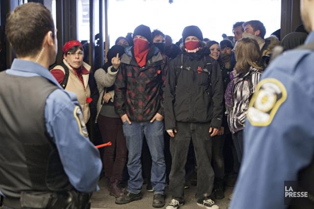 manifestation d'appui aux arrêtés du 17 février