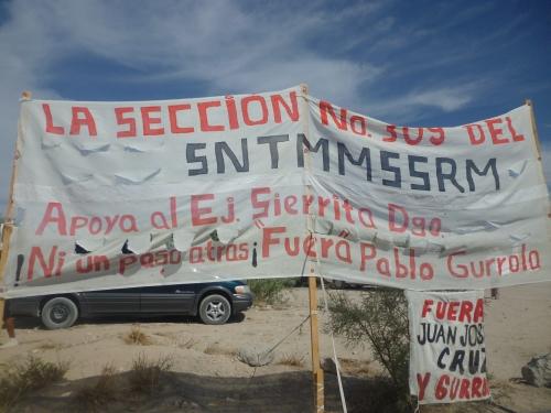 lutte syndicale au mexique