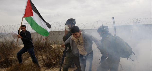 Affrontements entre Palestiniens et forces israéliennes