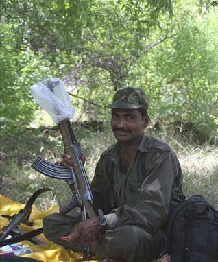 Guérillero maoïste