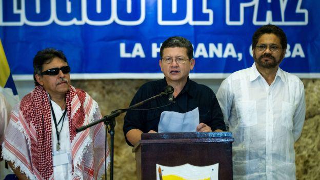 Santrich, Marquez et Catatumbo