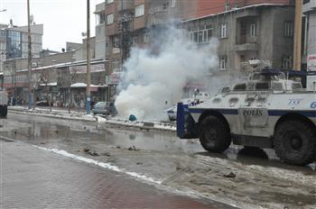 Répression policière à Yüksekova