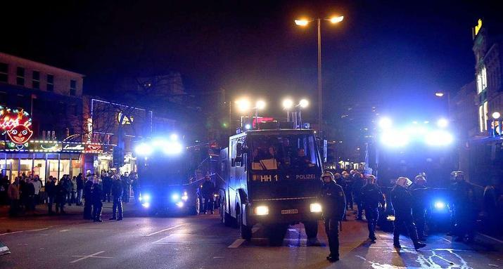 Répression à Hambourg