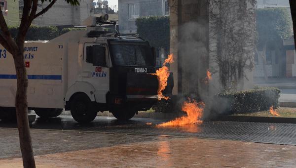 émeute kurde à Adana
