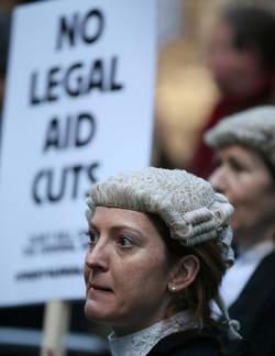 grève des avocats britanniques