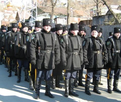 paramilitaires cosaques