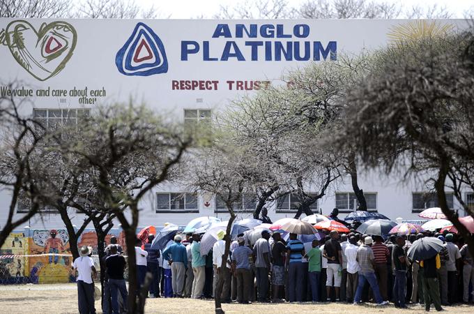 Bâtiment de l'Anglo American Platinum's Union