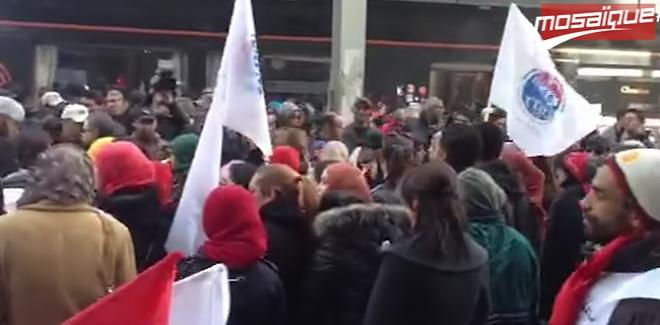 Manifestation des travailleurs de la COFAT