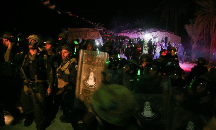 Eviction du camp de Ein Hijleh