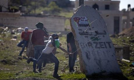 Jeunes Palestiniens à Birzeit