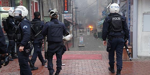 Déploiement policier à Istanbul