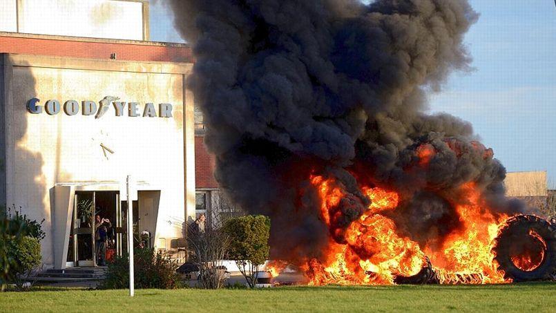 L'occupation de l'usine Goodyear en janvier