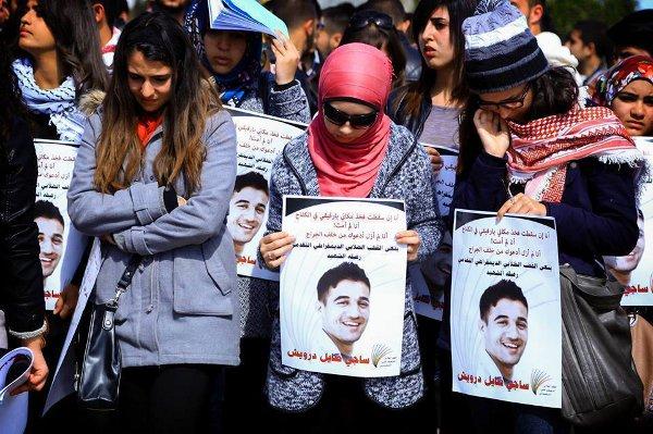 Les funérailles de Saji Darwish